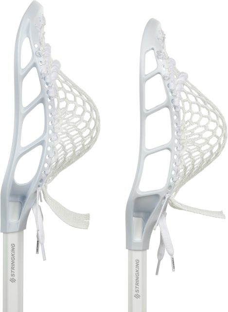 Limited Edition Complete Lacrosse Stick All White