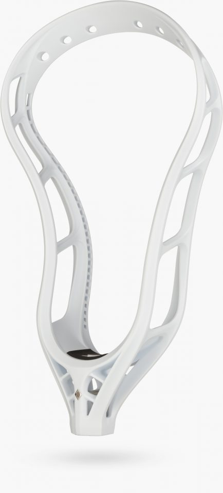 StringKing Mark 2A Men's Attack Lacrosse Head Unstrung Floating Angle - White