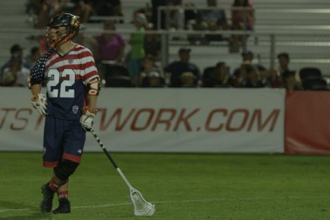 Off-Hand with StringKing Pro Kevin Rice Atlanta Blaze Major League Lacrosse