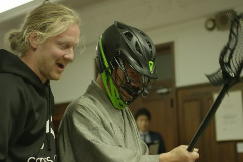 Matt Gibson, Joey Sankey, Scott Ratliff Lacrosse in Japan