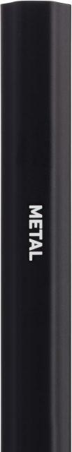 StringKing Metal Lacrosse Shaft - Black
