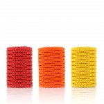 StringKing Type 2 Performance Lacrosse Mesh Color Rolls Red Orange Yellow