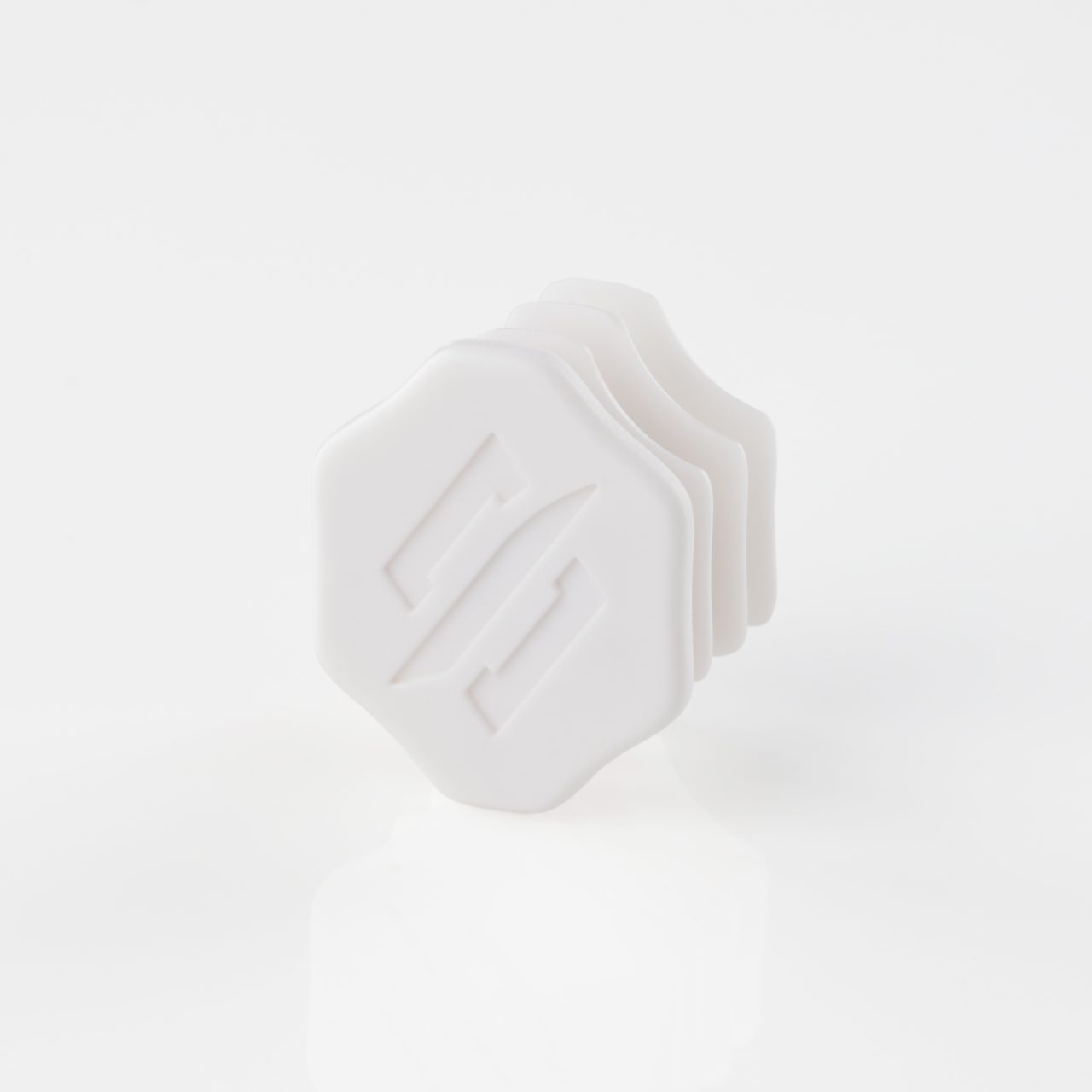 StringKing Lacrosse Shaft End Cap Angle - White