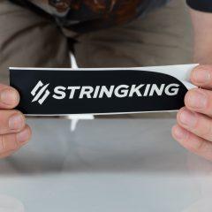 Large Peeling StringKing Lacrosse Stickers