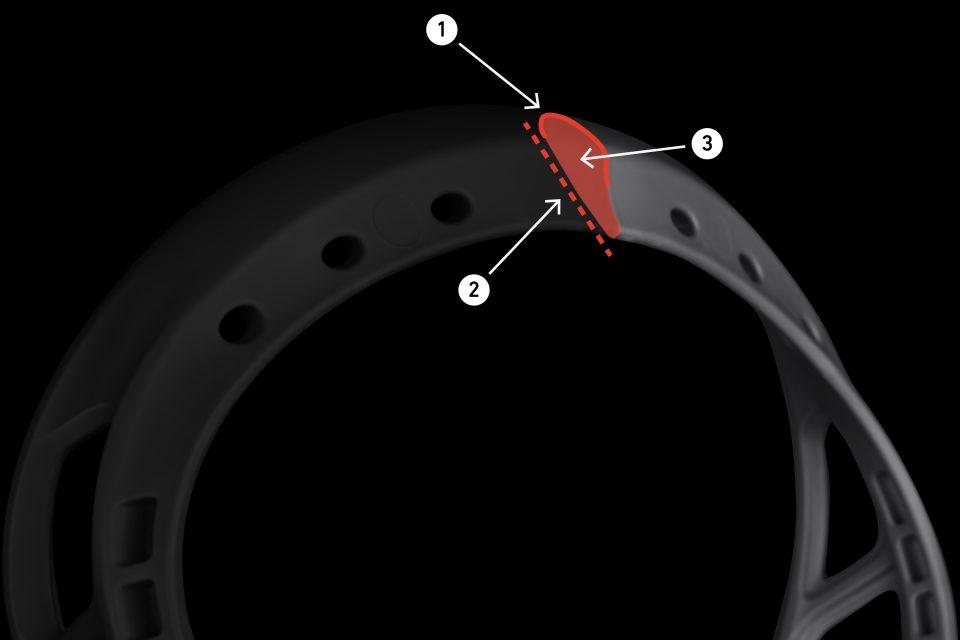 StringKing Mark 2V Lacrosse Head Scoop Science Unstrung - Gray