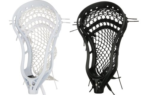 StringKing Mark 2A Mens Attack Lacrosse Head Strung White Black