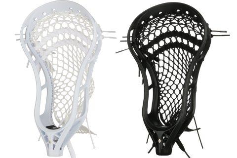 StringKing Mark 2A Mens Attack Lacrosse Head Strung White Black