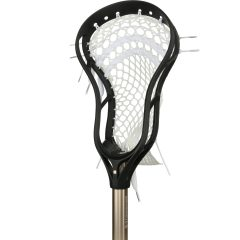 StringKing Complete 2 Intermediate Lacrosse Stick Angle Black Nickel
