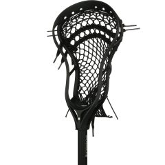 StringKing Complete 2 Junior Youth Lacrosse Stick Angle Black Black