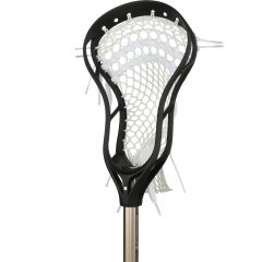 StringKing Complete 2 Junior Youth Lacrosse Stick Angle Black Nickel