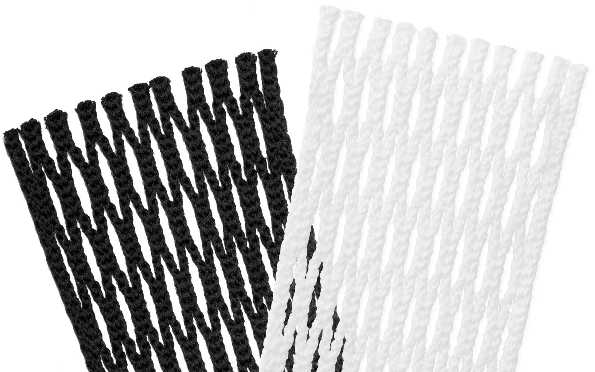 StringKing Type 4 Performance Lacrosse Mesh Black White