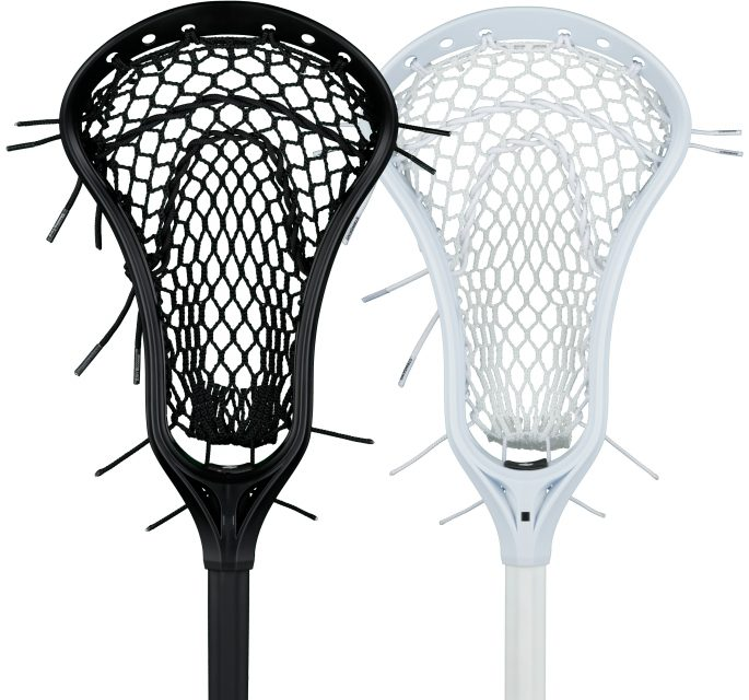StringKing Women's Complete Lacrosse Stick Category Image Face Black White
