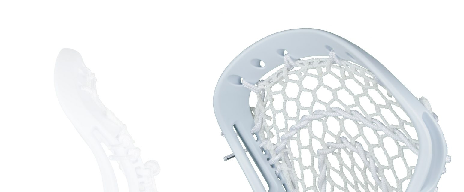 StringKing Women's Complete Strung Lacrosse Stick Feature Image Unmatched Consistency White White