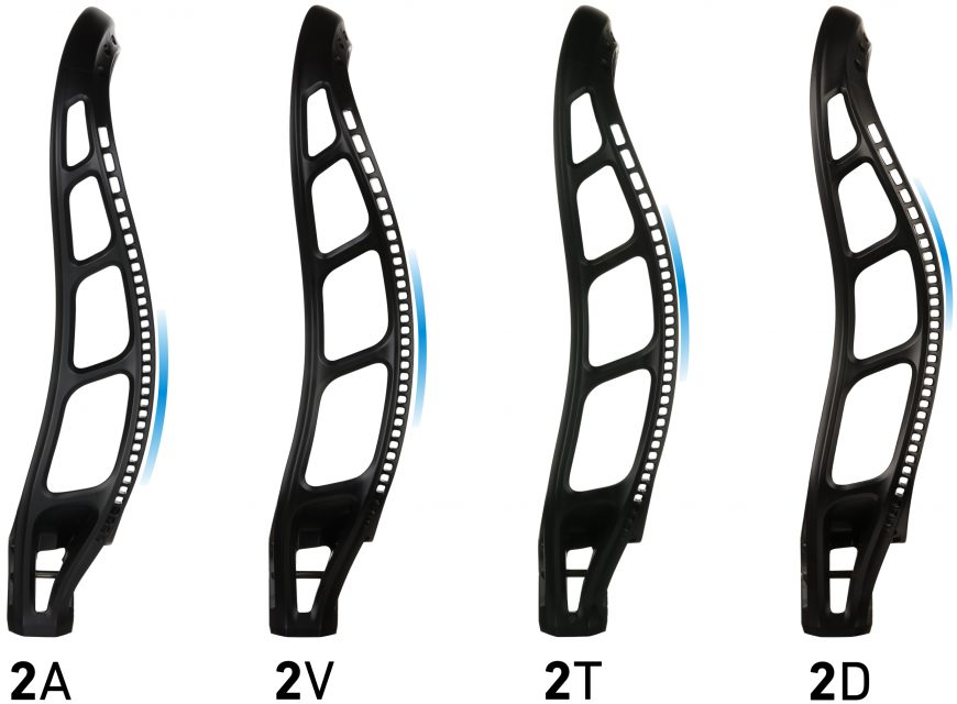 StringKing Mark 2 Lacrosse Head Family Sidewall Comparison