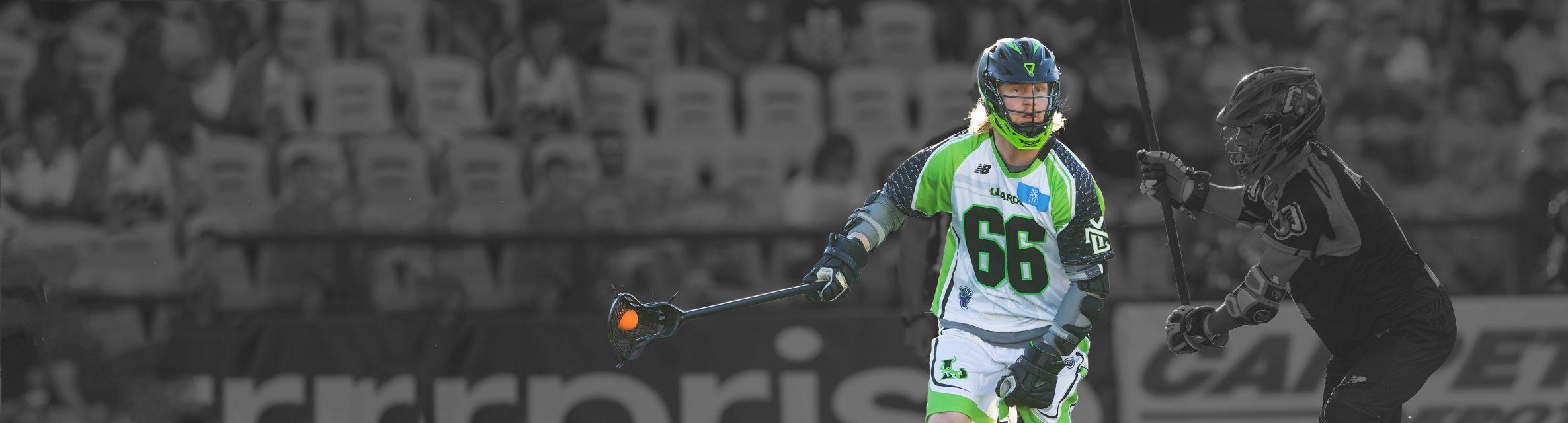 StringKing Matt Gibson Pro Series Lacrosse Stick In Action