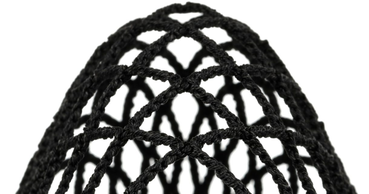 StringKing Grizzly 2 Goalie Mesh Responsive Channel Straight Black