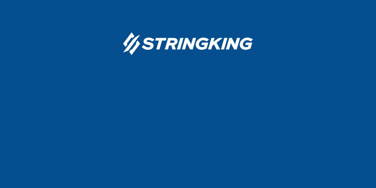 HEADstrong and StringKing Partnership Blue Background