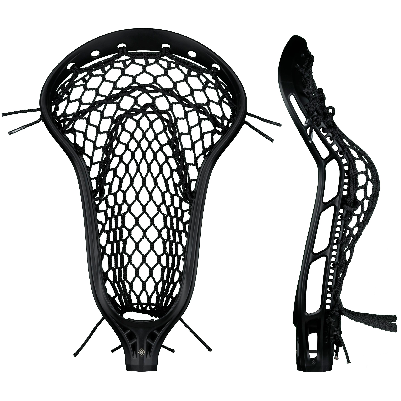 StringKing Women's Mark 2 Defense Lacrosse Head Face Pocket Black