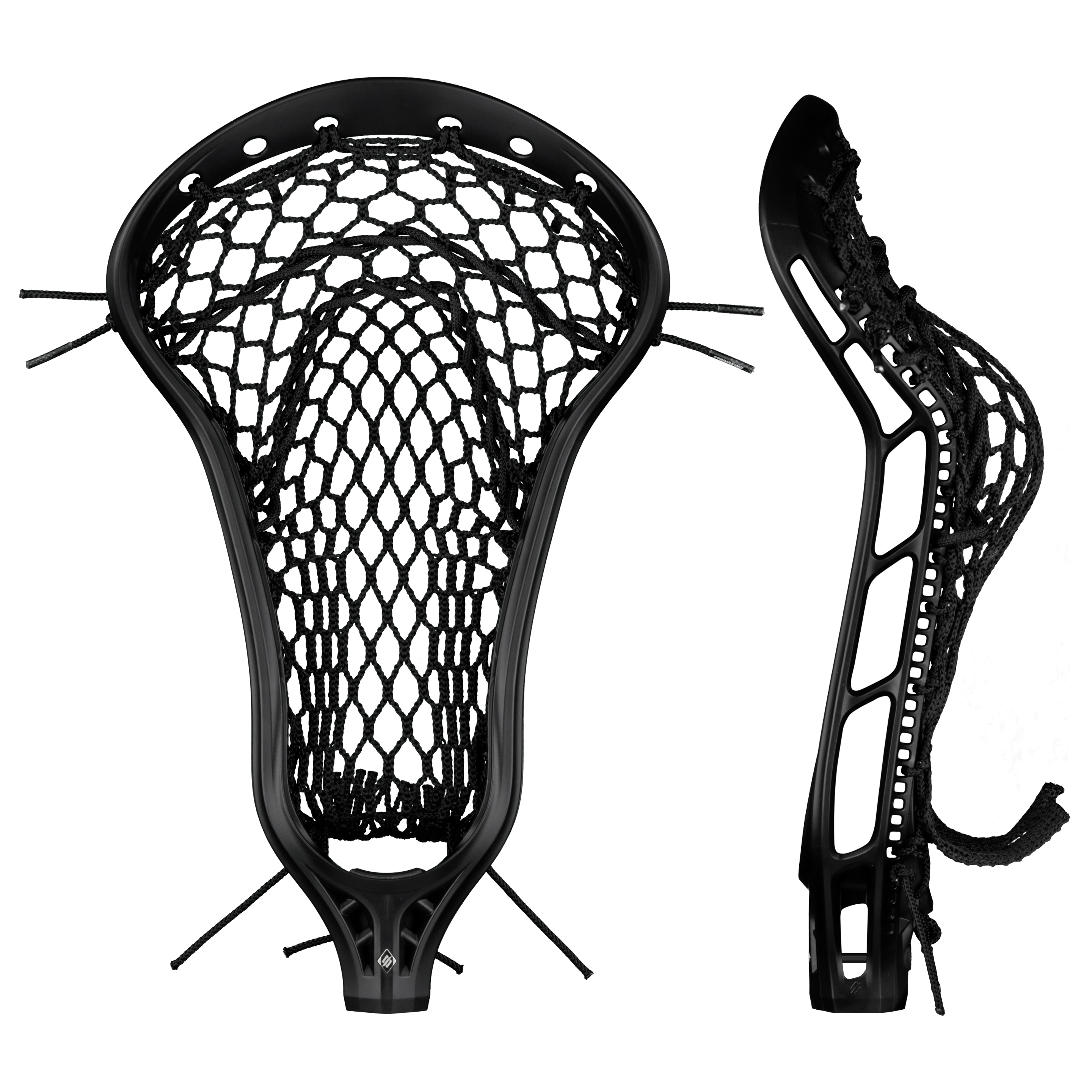 StringKing Women's Mark 2 Offense Lacrosse Head Face Pocket Black
