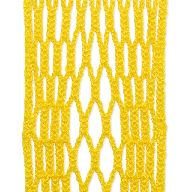 StringKing Women's Type 4 Performance Lacrosse Mesh Diamonds Flat Yellow
