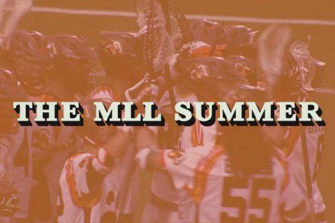 The MLL Summer Atlanta Blaze StringKing Pro Matt Gibson Tom Palasek