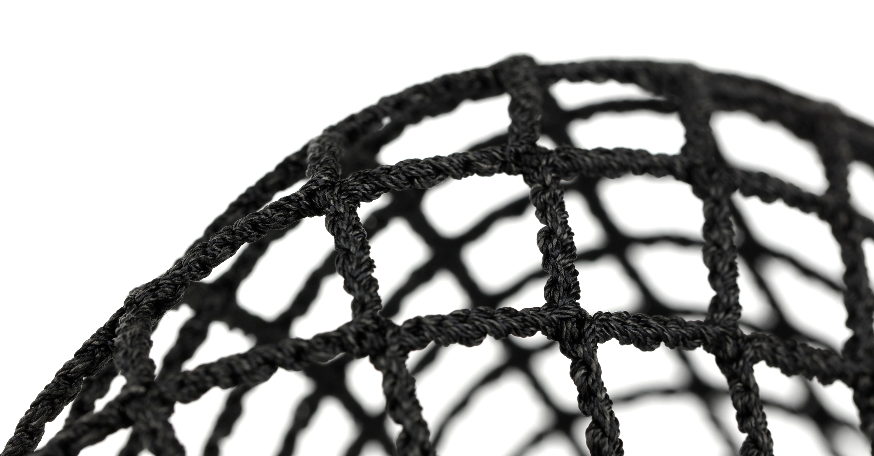StringKing Grizzly 2 Goalie Lacrosse Mesh Macro Pocket Black