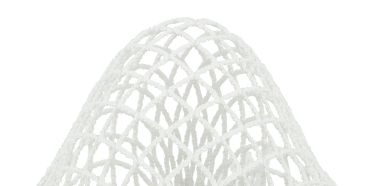 StringKing Grizzly 2 Goalie Lacrosse Mesh White Pocket Homepage