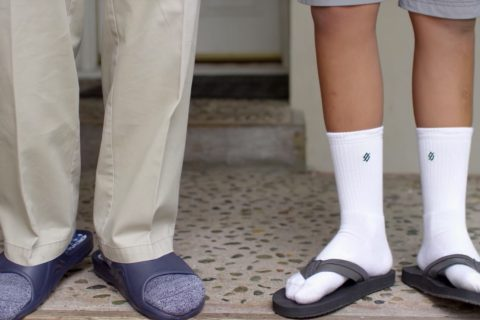 StringKing Athletic Crew Socks Sandals Video