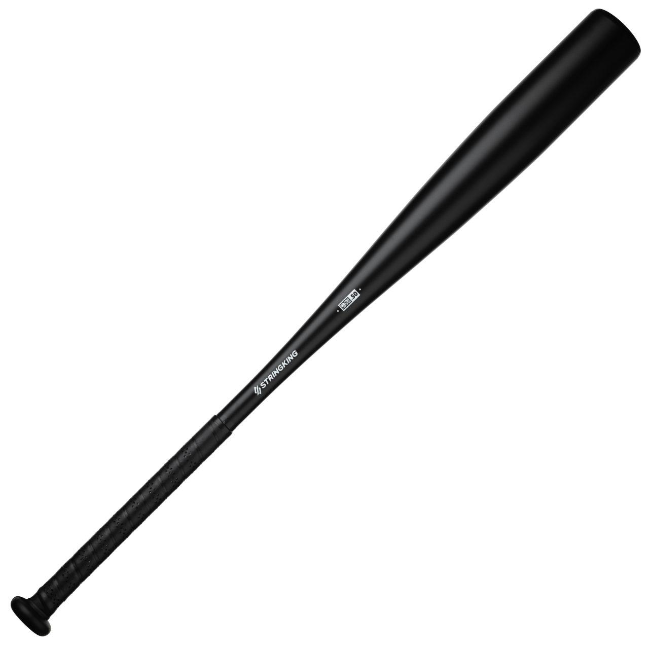 StringKing Metal Baseball Bat BBCOR 33 Inch Full View Black