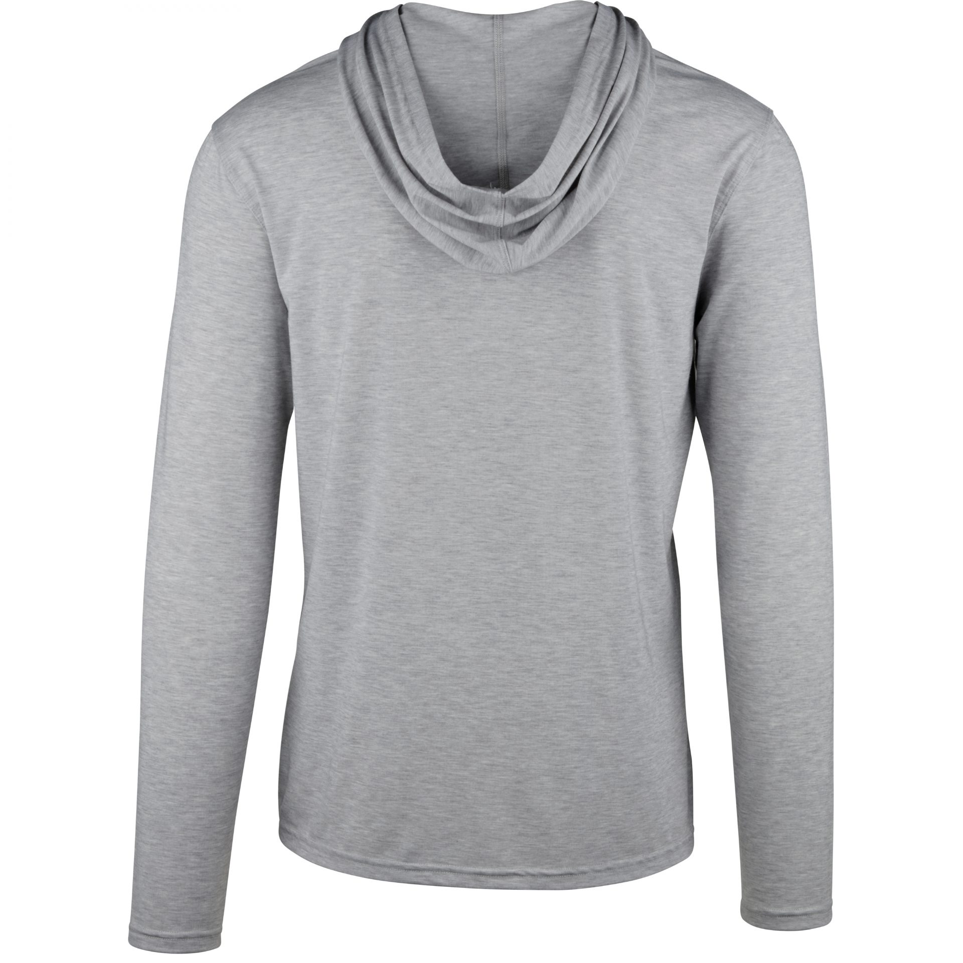 StringKing Apparel Hoodie Athletic Heather Gray Back