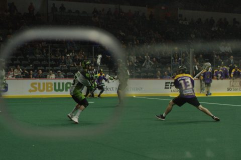 StringKing Gameday San Diego Seals Saskatchewan Rush NLL Indoor Lacrosse