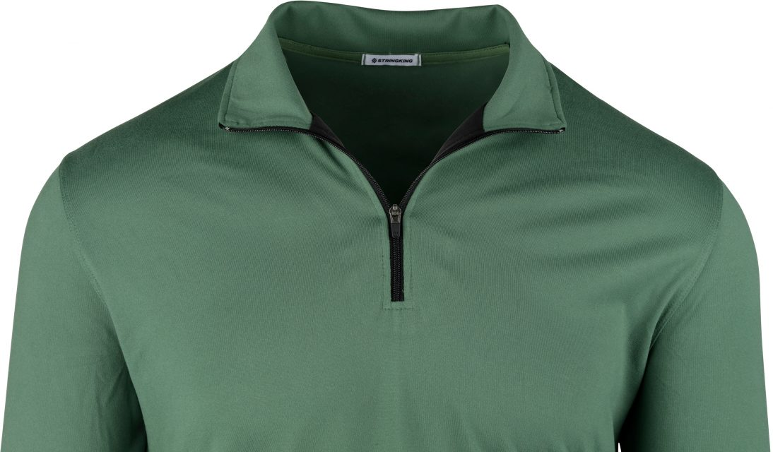StringKing Apparel Quarter Zip Features Customized To Your Needs