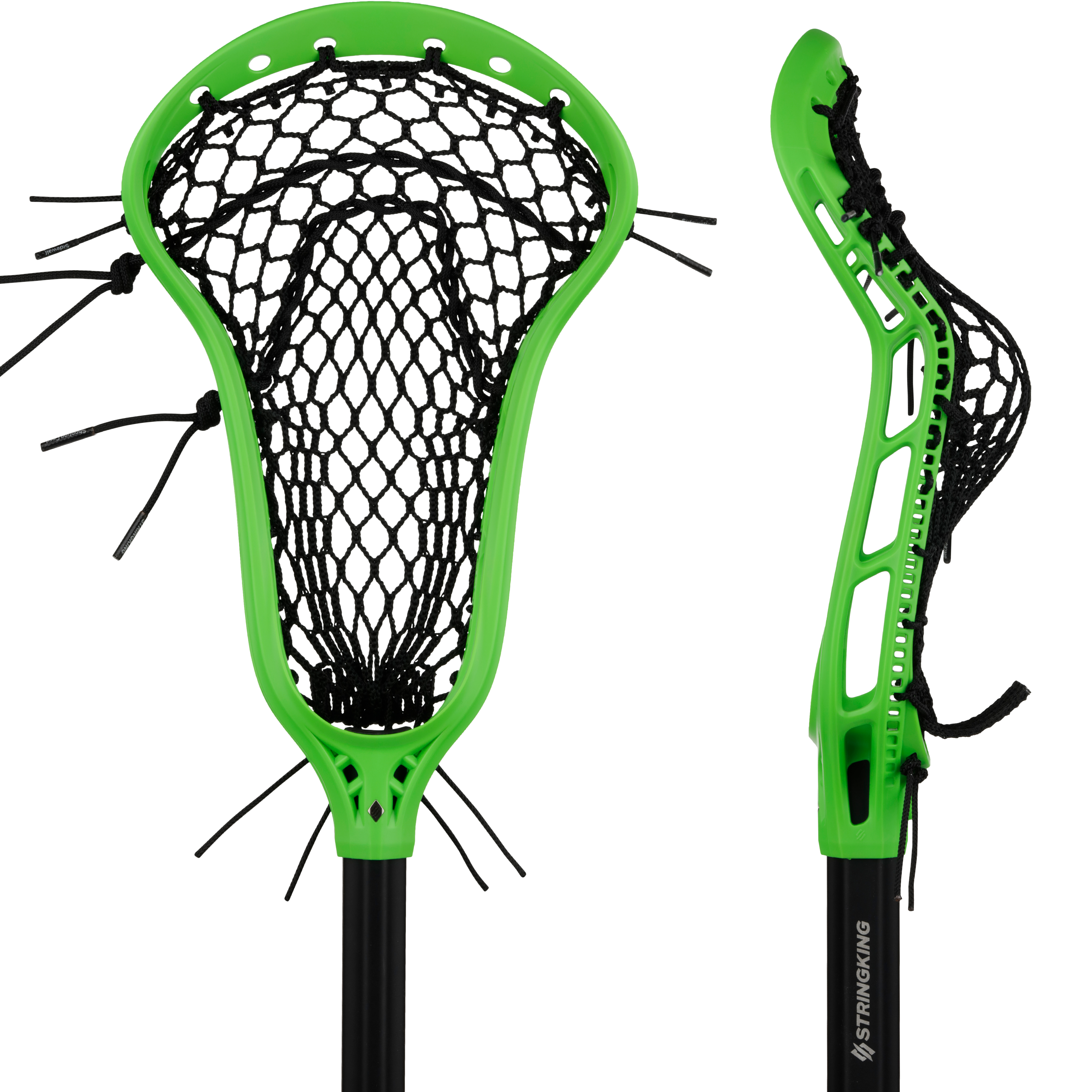 StringKing Women's Lacrosse Mark 2 Midfield Headstrong Product Image Front Sidewall View