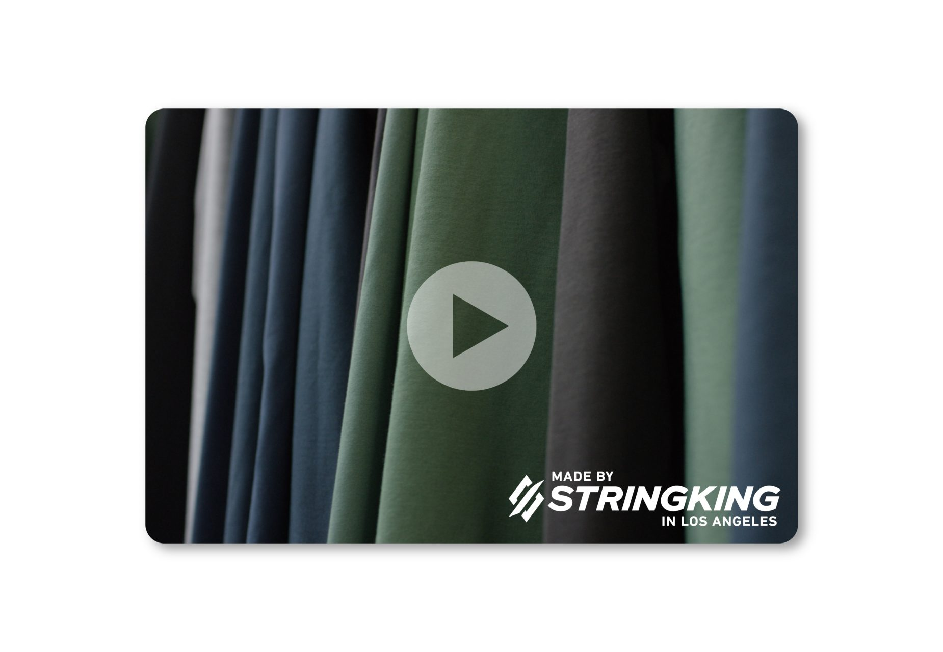 StringKing Custom Fit Apparel Process Video Homepage Carousel