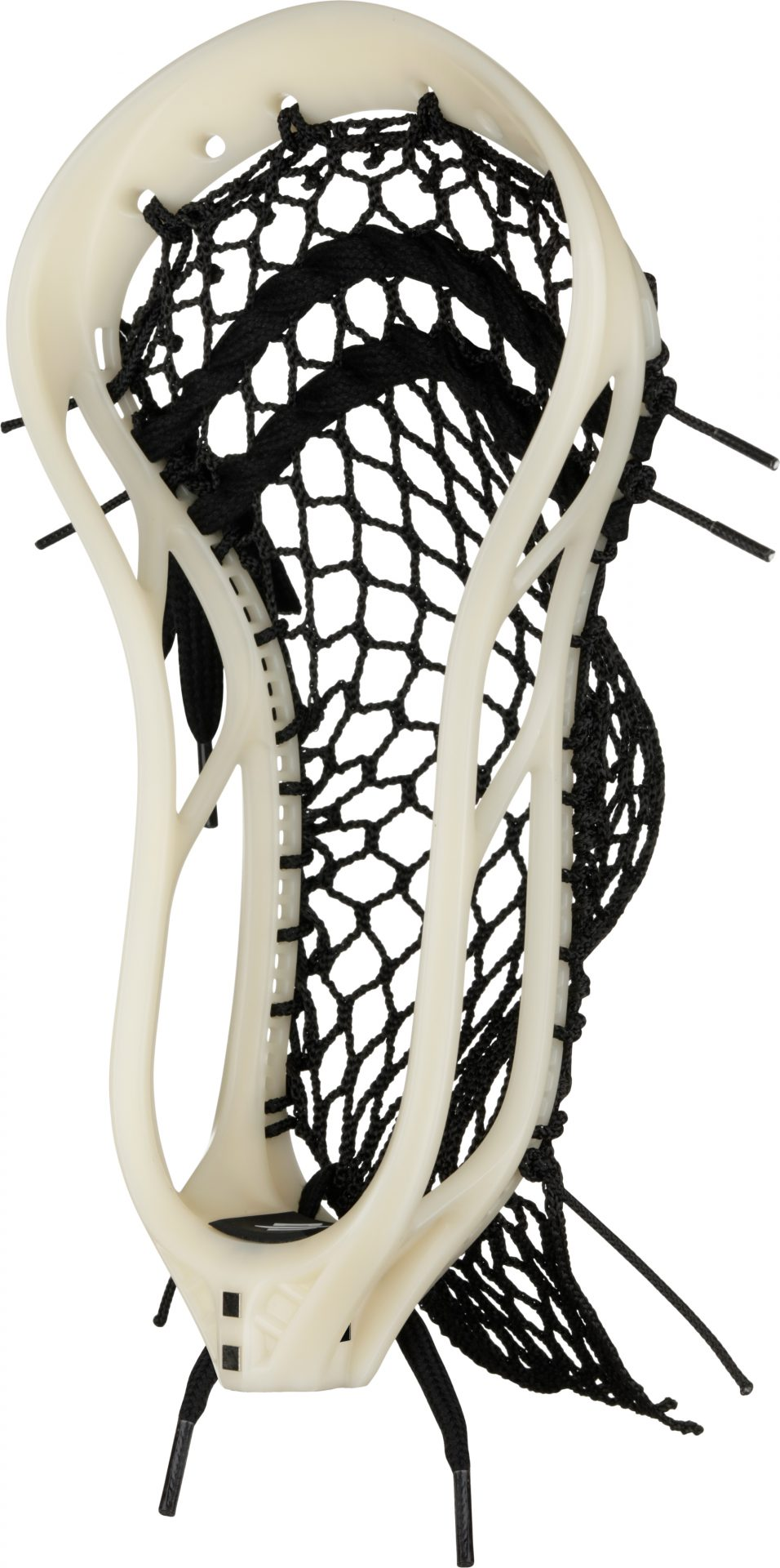 StringKing Lacrosse Mark 2F Stiff Raw Black Angle View